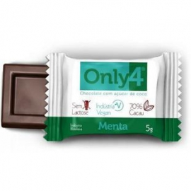 CHOCOLATE ZERO ONLY4 MENTA (5G) - ONLY4