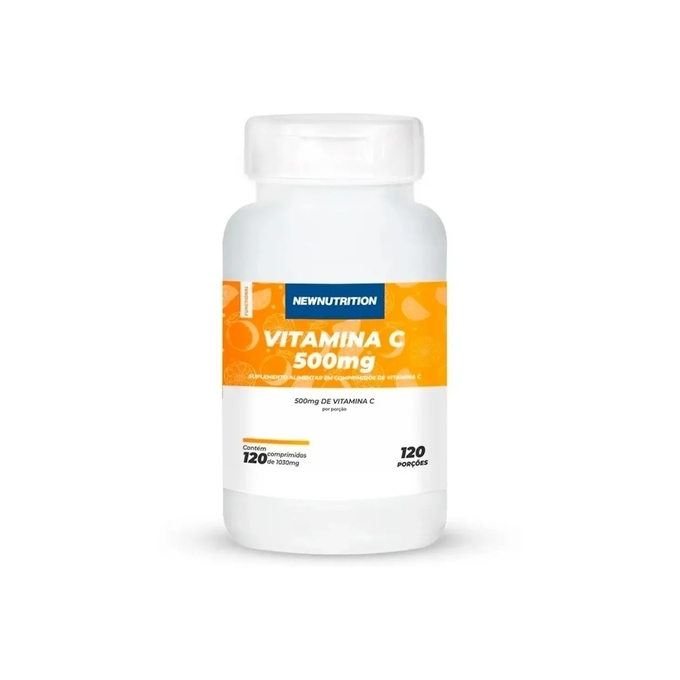 VITAMINA C 500MG (120 CAPS) - NEW NUTRITION