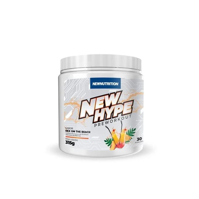 NEW HYPE PRÉ WORKOUT (300G) - NEW NUTRITION