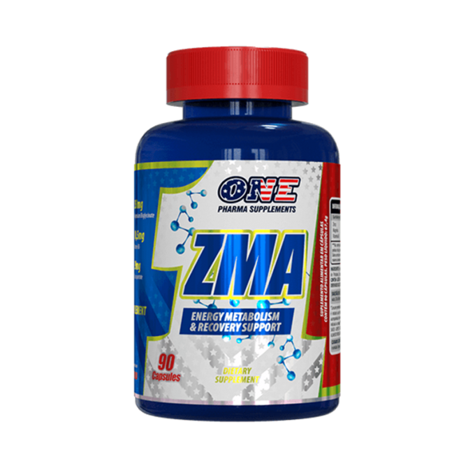 ZMA (90 CAPS) - ONE PHARMA SUPPLEMENTS