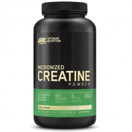 MICRONIZED CREATINE POWDER (300G) - OPTIMUM NUTRITION