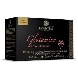 GLUTAMINA BOX (30 SACHÊS DE 5G) - ESSENTIAL NUTRITION