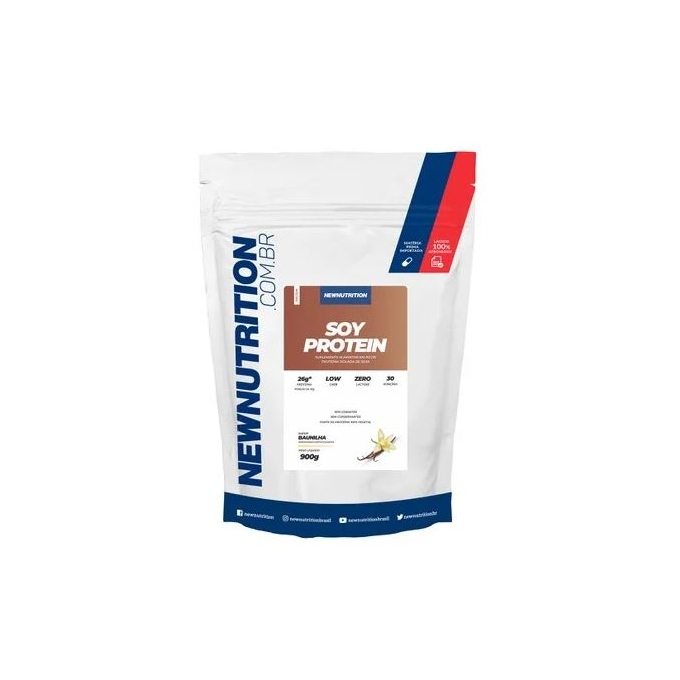 SOY PROTEIN LOW CARB ZERO LACTOSE (900G) - NEW NUTRITION